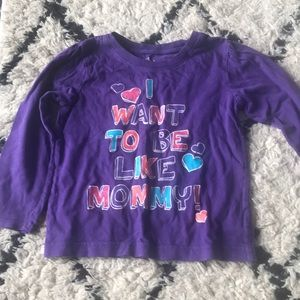 2x girls long sleeves 3T